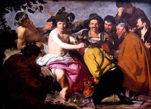 Los borrachos de Velázquez - Ejemplo edificante
