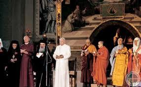 Encuentros ecuménicos de Asís: iniciativa gigante de los papas, todas las religiones y culturas dialogando, sería imposible sin verdades comunes