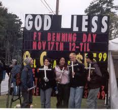 """Gente liibre, manifiesta contra Dios, manifiesta su """"tolerancia"""""""