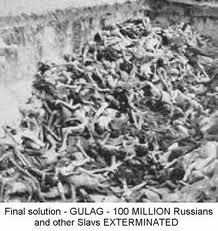 Un Gulag, una fosa común, la humanidad barrida, eso es la revolución, a eso se enfrentó Solzhenitsyn