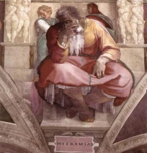 Profeta Jeremías: condenó fuertemente y se burló con sarcasmo de la creencia en la astrología