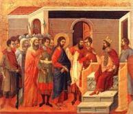 """Jesús, ante Pilato, dio la norma de lo más esencial de la política cristiana: """"no tendrías ninguna autoridad sobre Mí, si no se te hubiera dado de lo Alto"""""""