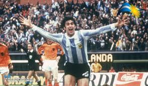 Kempes, el Matador, le dio a Argentina la victoria en la final del 78