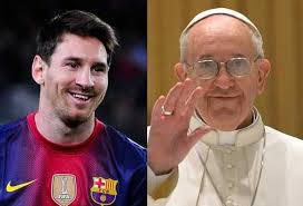 Messi, uno de los nombrados dioses, por los abyectos, es católico y considera un orgullo que el Papa sea argentino