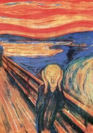 El Grito de Munch, buena expresión de la situación existencial del hombre posmo... Dios nos libre