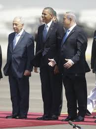 Obama llega a Tel Aviv: comitivas, protocolo: cero emoción, Ronaldo lo opacó