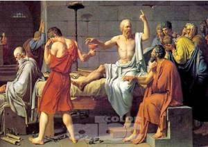 """Platón, en El Banquete, por boca de Sócrates, defiende el amor de la """"procreación en los cuerpos y en las almas"""", un orden en la filosofía"""
