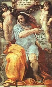 Profeta Isaías: dijo que, por sus sufrimientos, el Siervo de Yavé llevaría el Plan de Dios a su cumplimiento: impresionante a lusión a Jesús, 700 años antes de su Pasión
