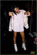 Rihanna en pijama en el Webster Hall, sobran las palabras