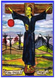 San Pablo Miki y sus compañeros, proto-mártires de la mil veces heroica Iglesia del Japón