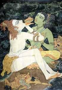 Hinduismo: dioses varios, con cuerpo, con sexo... No  mucha sabiduría por este lado, en este aspecto, ¿ah?