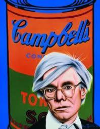 """Andy Warhol y su """"arte"""" pop, uno de los símbolos potentes del mundo posmo de la contracultura"""