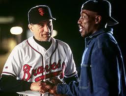 Bobby Raburn (Wesley Snipes) le dice a Gil Renard, el Fanático (Robert De Niro), las sabias palabras, en esta escena