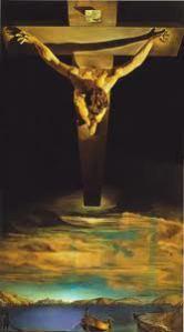 El Cántico Espiritual de San Juan de La Cruz, obra sobre el amor infinito, inspira a Dalí, que nos da esta representación de un infinito de amor inenarrable. Perales, otro español, va por estos caminos