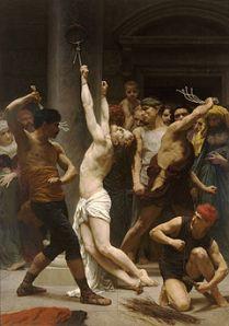 La flagelación de Jesús es un episodio claro del cumplimiento de muchas profecías en Él, empezando por las de Isaías LII,13-LIII,12