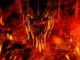 Saurón, imagen literaria de la voluntad de poder humana, intento de usurpación del lugar de Dios