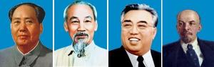 Mao, Kim Il-Sung, Ho Chi Minh, Leenin, grandes tiranos, cuando aparezca el anticristo éstos quedarán como mediocres
