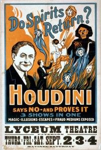 Harry Houdini un enemigo jurado del espiritismo