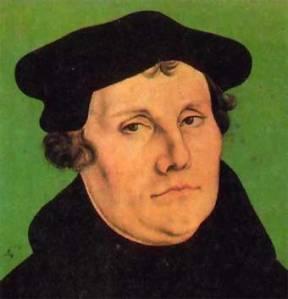 Lutero, con su rebelión, con su ruptura irracionalista, se convirtió, históricamente, en uno de los grandes impulsores de la gran rebelión contra el Logos divino. A éste es a quien, a según, hay que conmemorar