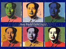 Mao hizo series de cuadros sobre personajes: en un mismo saco tienes dos símbolos de corrupción humana: Mao y Marilyn