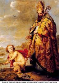 San Agustin: En su itinerario vital, se preparó para servir a Cristo, siendo hábil para enfrentar todas las batallas