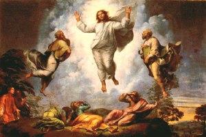 La Transfiguración de Rafael: el Arquetipo, desde mucos puntos de vista: el hombre perfecto, perfectamente libre, perfecta paz, perfecta vida-oración, perfecta obra de arte que conecta de manera sublime con el Infinito, etc.