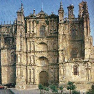 """Una muestra impresionante del Barroco: la catedral """"Nueva"""" de Plasencia: es bella, bellísima punto, no hay más nada que decir"""