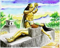 """Los """"indigenistas"""" pretenden que nosotros seamos esto, que hagamos sacrificios humanos, etcétera. Lo mejorcito de esto que ahora es América, Mayas, Aztecas, Incas, los practicaban. Cristo acabó con estos abusos y trajo el amor de Dios... Que lo digan Juan Diego o el Inca Garcilazo de la Vega..."""