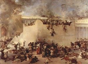 """Como Jesús predijo, del Templo no quedó piedra sobre piedra. Si se intentara construir de nuevo, sería imposible: ya cesó el antiguo sacerdocio y su rito, ese """"Templo"""" sería una blasfemia"""