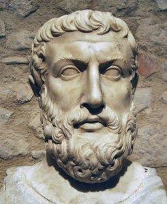 Parménides, padre de la metafísica y de nuestro conocer lo inmaterial: él supo bien  la inmensidad de lo divino, su infinitud y santidad