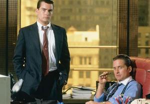 Wall Street, Gecko y Fox, ídolos de los veneingleses