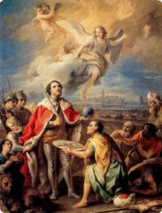 San fernando, Rey de España. Luchó por la Fe, Luchó por España, por la Cristiandad. Un grande de Cristo. Su amor lo consumía, jalonaba su lucha, de la tierra al cielo