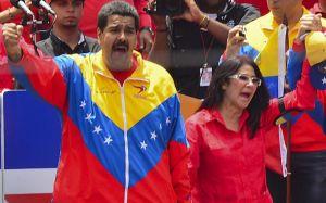 Maduro y Cilia, compañeros, primeros combatientes