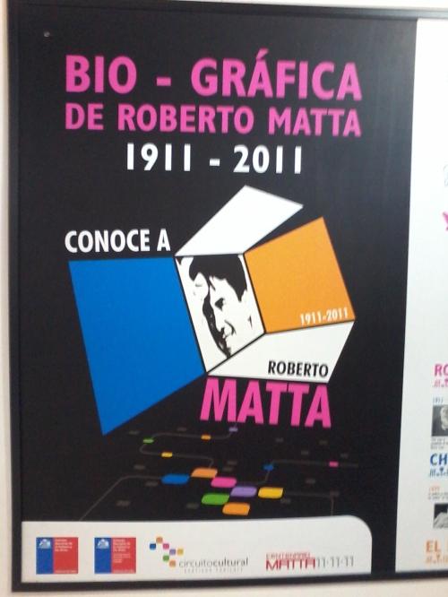Roberto Matta, que en paz descanse
