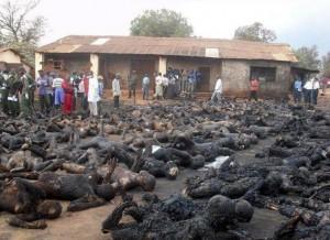 Imagen terrible de las masacres de Boko Haram. Ante esto, el tirano Obama prefiere aprovecharse para obligar a Nigeria a aceptar la perversión