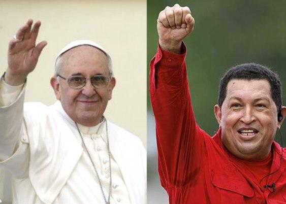 Chávez y Francisco, dos hombres que buscan la ciencia, la sabiduría... perdón, no la buscan, la persiguen...