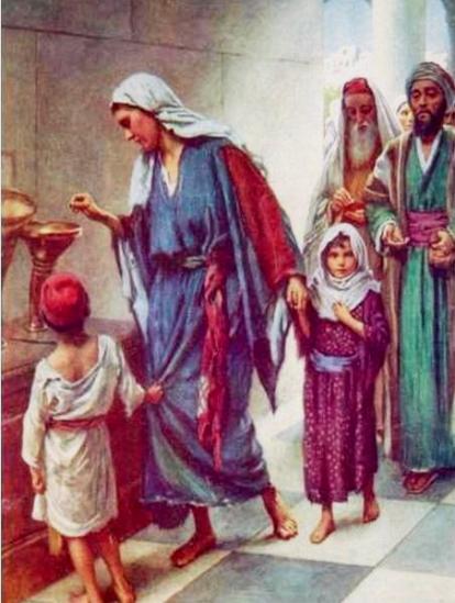 La viuda puso una ofrenda que parecía minúscula, pero era la más grande, era todo su ser, el de una mujer de una pieza, pura generosidad sin doblez