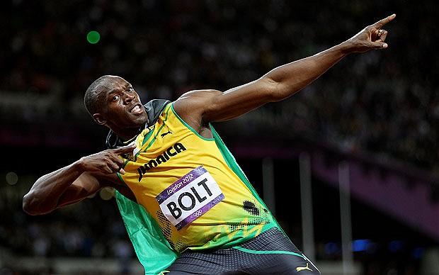 Usain Bolt, el hombre más rápido de la historia, Dios quiera que no haya andado en malos pasos