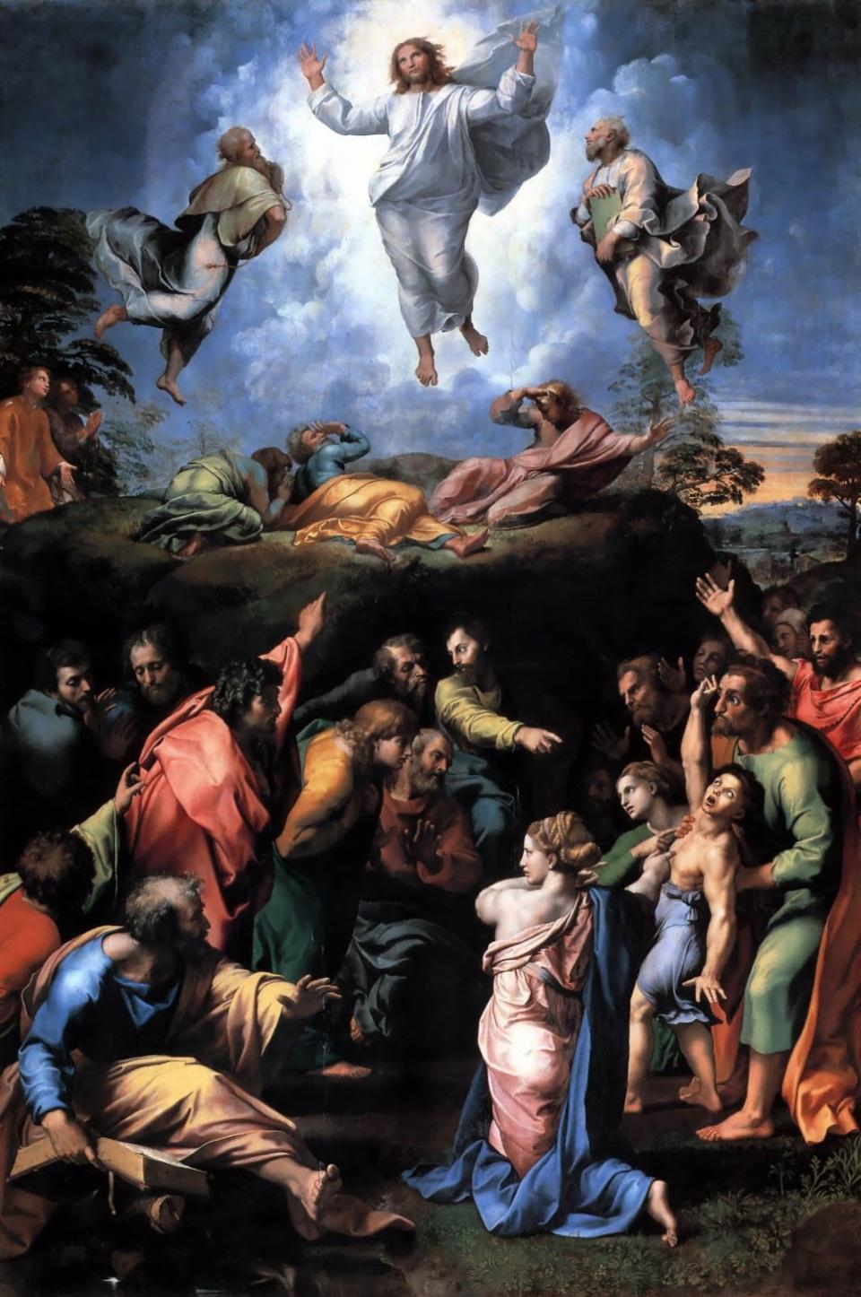 Participando de su Cuerpo, nosotros, pobres mortales caídos, participamos de esta Gloria, en lo escondido, y estamos en camino de participar de ella, a plena luz del día, del Día que es Él mismo