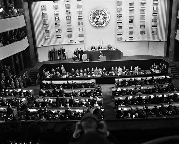 París, Septiembre de 1948, en el Palais de Chaillot, se firmó la Declaración Universal de los Derechos Humanos