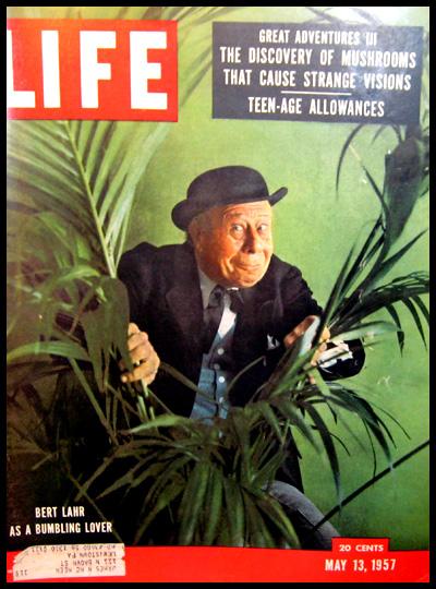 Wasson, en la portada de Life, parte de la operación MK-Ultra y el lanzamiento de la contra-cultura, por parte de la CIA misma