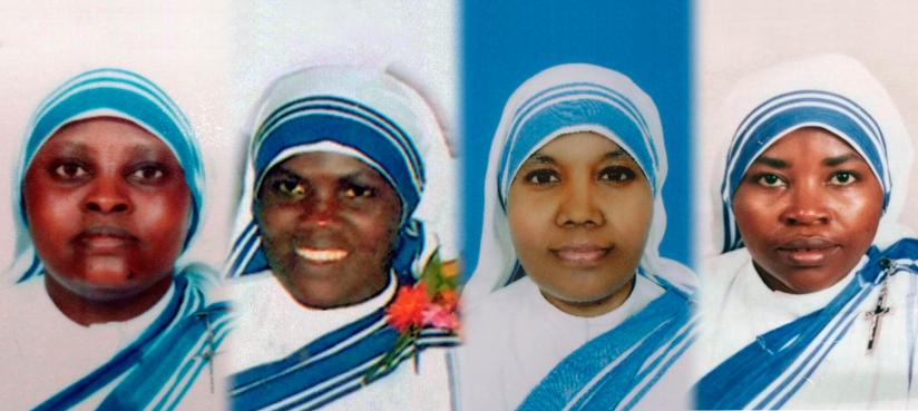 Éstas son las hermanas que mataron en Yemen la semana pasada: una india, una keniana, dos ruandeses; sus colaboradores eran árabes, etiopes y de Eritrea. Ya son tenidas por santas por muchos católicos: la Iglesia no puede ser racista, pues, siendo de Dios, es Universal