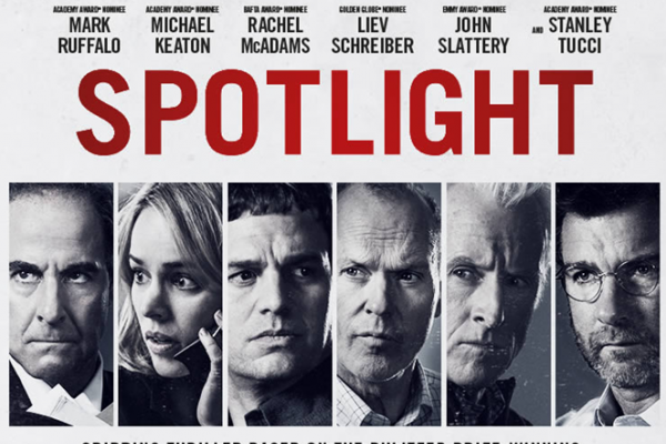 Spotlight, reparto todos estrellas, lo mejor al alcance de Hollywood, 20 MM de $ de presupuesto, mucho poder, para destruir a la la Iglesia... pero que pongan sus barbas en remojo...