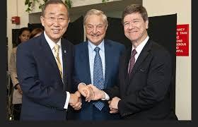 Tres mosqueteros: Soros, Sachs y Ban Ki Moon
